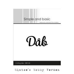 Simple and Basic Die – Dåb