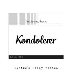 Simple and Basic Die – Kondolerer