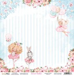 ScrapBoys – Scrapark – 30,5 x 30,5 cm – Sweet Ballet 01