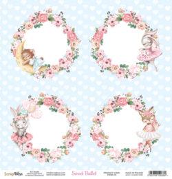 ScrapBoys – Scrapark – 30,5 x 30,5 cm – Sweet Ballet 02