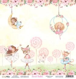 ScrapBoys – Scrapark – 30,5 x 30,5 cm – Sweet Ballet 03