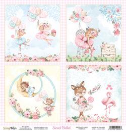 ScrapBoys – Scrapark – 30,5 x 30,5 cm – Sweet Ballet 04