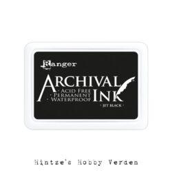 Archival ink pad Jet black