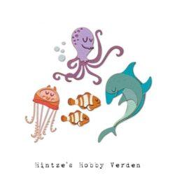 Sizzix/Tim Holtz Die – Under the Sea #1