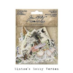 Idea-ology Tim Holtz Field Notes Ephemera Snippets