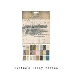 Idea-ology Tim Holtz Backdrops Volume 1
