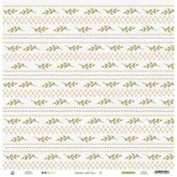 Piatek13 – Scrapark – 30,5 x 30,5 cm – Stitched with love 06