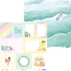 Piatek13 – Scrapark – 30,5 x 30,5 cm – Paper Summer vibes 05