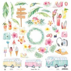 Piatek13 – Scrapark – 30,5 x 30,5 cm – Paper Summer vibes 07