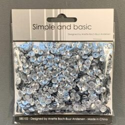 Simple and Basic Sequins – Gunmetal