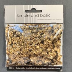 Simple and Basic Sequins – Bronze