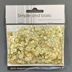 Simple and Basic Sequins – Platinum