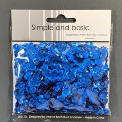 Simple and Basic Sequins – Blue