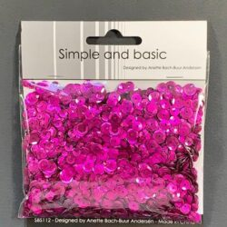 Simple and Basic Sequins – Pink