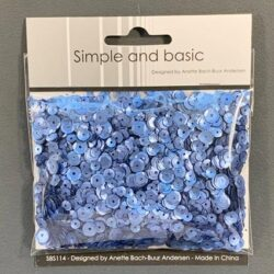 Simple and Basic Sequins – Pale Blue