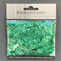 Simple and Basic Sequins – Pale Green