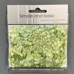 Simple and Basic Sequins – Spring Green