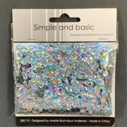 Simple and Basic Sequins – Holographic Silver