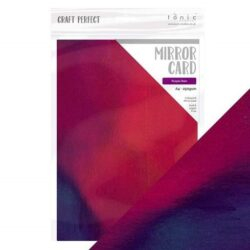Craft Perfect – Iridescent spejlkarton – Purple Rain A4