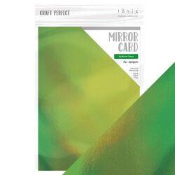 Craft Perfect – Iridescent spejlkarton – Seafoam Green A4
