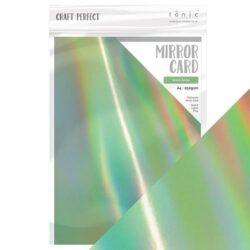 Craft Perfect – Iridescent spejlkarton – Water Sprite A4