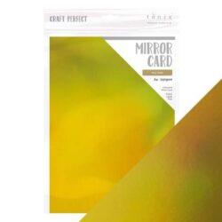 Craft Perfect – Iridescent spejlkarton – Inca Gold A4