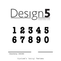 Design5 Stempel – Basis – Numbers