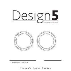 Design5 Stempel – Circles – Tillykke & Det skal fejres