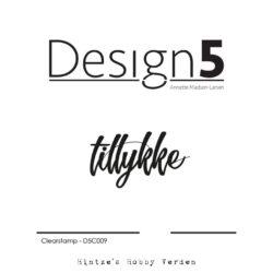 Design5 Stempel – Tillykke