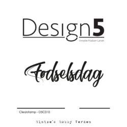 Design5 Stempel – Fødselsdag