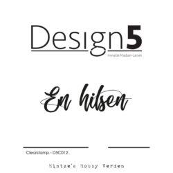 Design5 Stempel – En hilsen