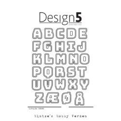 Design5 Die – Alphabet w/Shadow