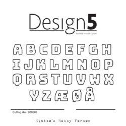 Design5 Die – Small Alphabet