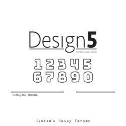 Design5 Die – Small Numbers