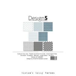 Design5 – Paperpad – 15×15 cm – Night Sky