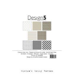 Design5 – Paperpad – 15×15 cm – Cosmic Latte