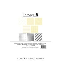 Design5 – Paperpad – 15×15 cm – Star Dust