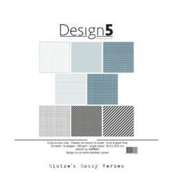 Design5 – Paperpad – 30,5×30,5 cm – Night Sky