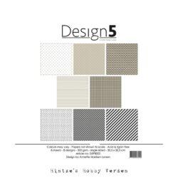 Design5 – Paperpad – 30,5×30,5 cm – Cosmic Latte