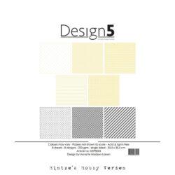 Design5 – Paperpad – 30,5×30,5 cm – Star Dust
