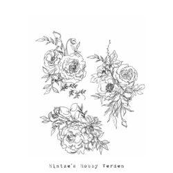 Tim Holtz Stempel – Floral Outlines