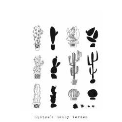 Tim Holtz Stempel – Mod Cactus