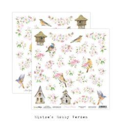 ScrapBoys – Scrapark – 30,5 x 30,5 cm – Flower dreams 07 – cut out elements