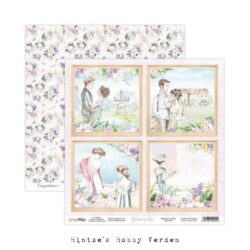 ScrapBoys – Scrapark – 30,5 x 30,5 cm – Garden of love 05