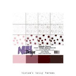 NHH – Paperpad – 15 x 15 cm – Splash Cherry