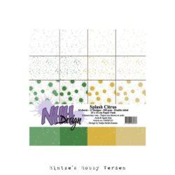 NHH – Paperpad – 15 x 15 cm – Splash Citrus