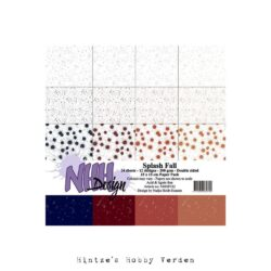 NHH – Paperpad – 15 x 15 cm – Splash Fall