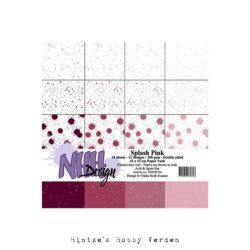 NHH – Paperpad – 15 x 15 cm – Splash Pink