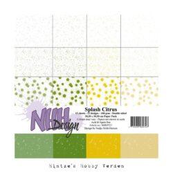 NHH – Paperpad – 30,5 x 30,5 cm – Splash Citrus