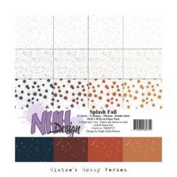 NHH – Paperpad – 30,5 x 30,5 cm – Splash Fall